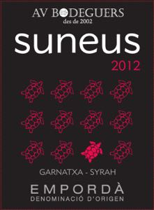 Suneus red backlabel